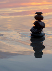 balancing rocks as a metaphor for the nervous system